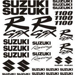 Suzuki 1100 GSXR Stickers - Autocollants Suzuki 117
