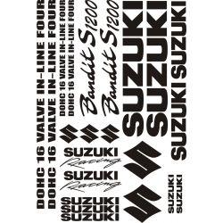 Suzuki 1200 Bandit S Stickers - Autocollants Suzuki 118