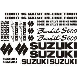 Suzuki 600 Bandit S Stickers - Autocollants Suzuki 119