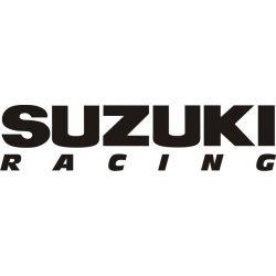 Suzuki Racing Sticker - Autocollants Suzuki 121