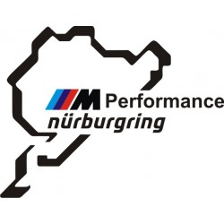 BMW M Performance Sticker