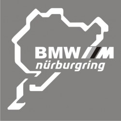 BMW Nurburgring M Performance Sticker