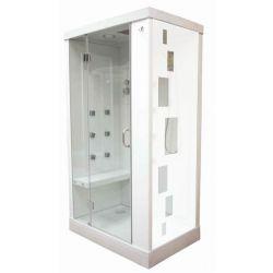 Film aspect verre dépoli pour vitre de douche - Design 2