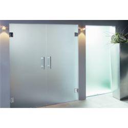 Film aspect verre dépoli pour porte vitrée - Design 9