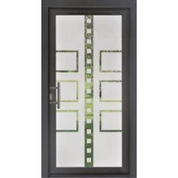 Film aspect verre dépoli pour porte vitrée - Design 10