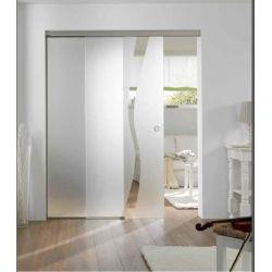 Film aspect verre dépoli pour porte vitrée - Design 12