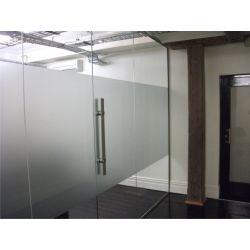 Film aspect verre dépoli pour Bureau, Local, cabinet - Design 18