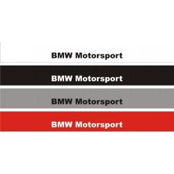 bande de pare brise BMW Motorsport Mod2