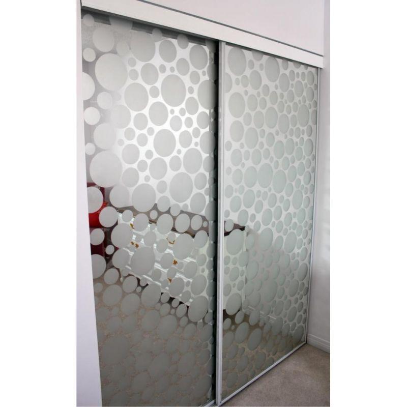 Aspect Verre Dpoli Pour Miroir Porte De Placard  Design
