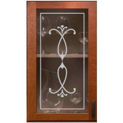 Film aspect verre dépoli pour Miroir, porte de placard - Design 52