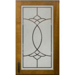 Film aspect verre dépoli pour Miroir, porte de placard - Design 54
