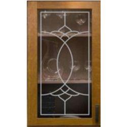 Film aspect verre dépoli pour Miroir, porte de placard - Design 55