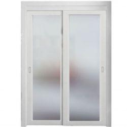 Film aspect verre dépoli pour fenêtre - Design 61
