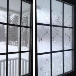 Film aspect verre dépoli pour fenêtre - Design 64
