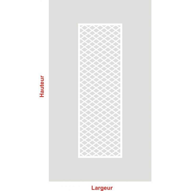 Film aspect verre dépoli pour Vitre - Design 89