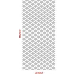 Film aspect verre dépoli pour Vitre - Design 90