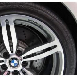 Stickers jantes BMW Performance