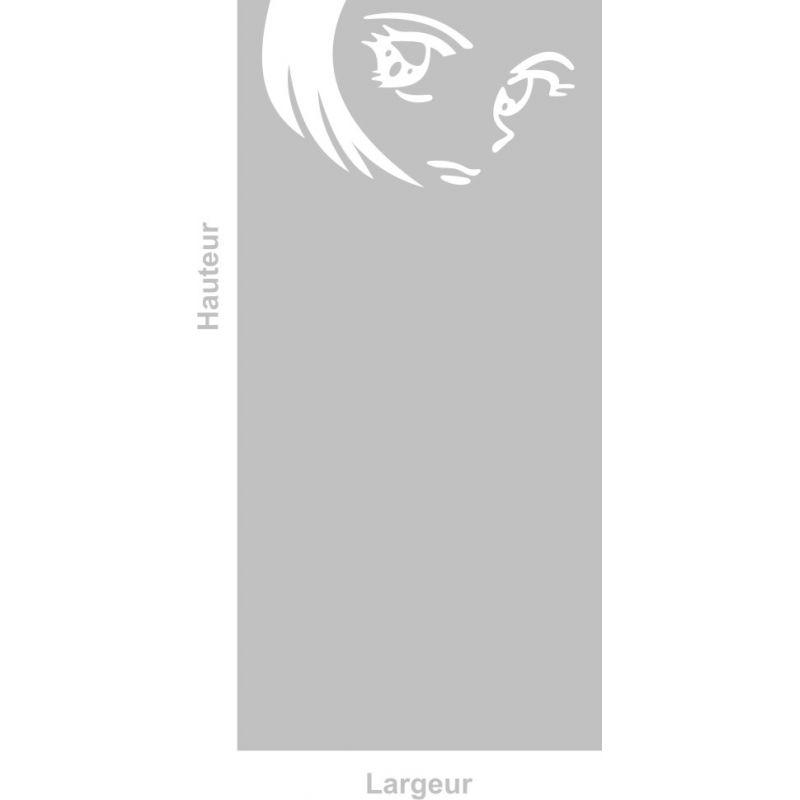 Film adhésif aspect verre dépoli sur mesure pour Vitre Design 289