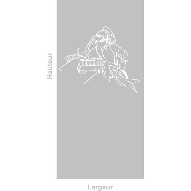 Film adhésif aspect verre dépoli sur mesure pour Vitre Design 290