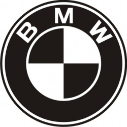 Sticker BMW rond