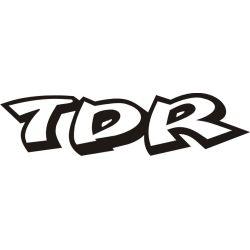 Sticker Autocollant TDR