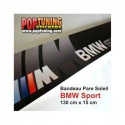 Bandeau pare soleil BMW Sport - M3