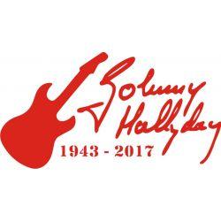 autocollant pour tous les Fans de Johnny Halliday
