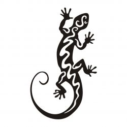 autocollant salamandre - Sticker Geiko