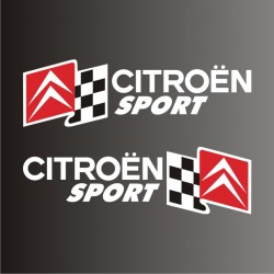 autocollants Citroen Sport