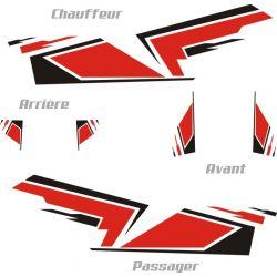 Kit déco rallye - Stickers  (toutes marques) personnalisable