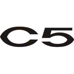 Sticker C5 Citroën