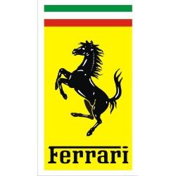 Autocollant Ferrari 3