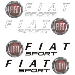 autocollants Fiat Sport 2