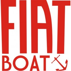 Sticker Fiat Boat
