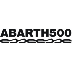 Sticker Abarth 500 esseesse