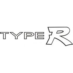 Sticker Honda Type R