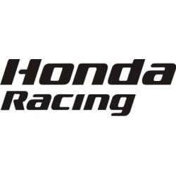Sticker Honda Racing