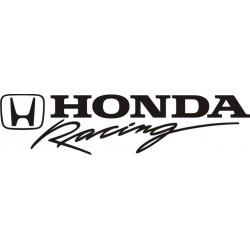 autocollant Honda Racing 4