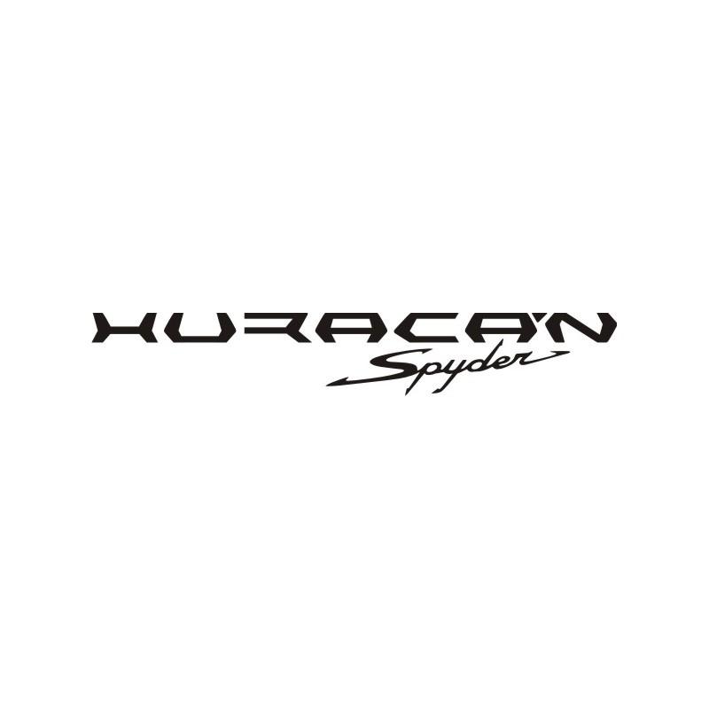 Sticker Lamborghini Huracan Spyder