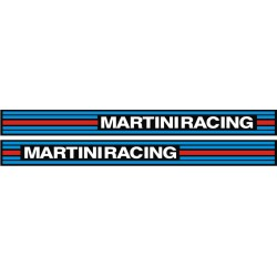 2 Stickers Martini Racing 4