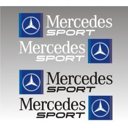 Kit 2 autocollants Mercedes Sport
