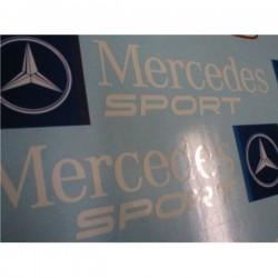 autocollants Mercedes Sport