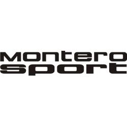 Sticker Mitsubishi Montero Sport