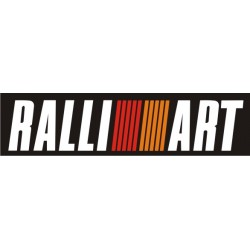 Sticker Ralliart noir