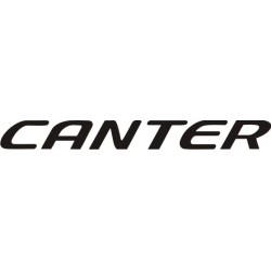 Sticker Mitsubishi Canter
