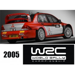 Kit déco adhésif pour Mitsubishi EVO WRC 2006