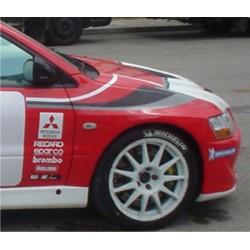Autocollants pour portières EVO WRC