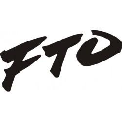 Sticker Mitsubishi FTO