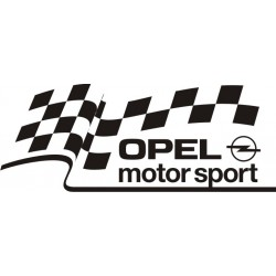 Sticker Opel Motorsport