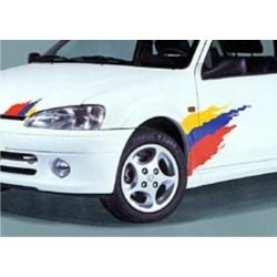 Kit déco Rallye aux couleur de Peugeot Sport